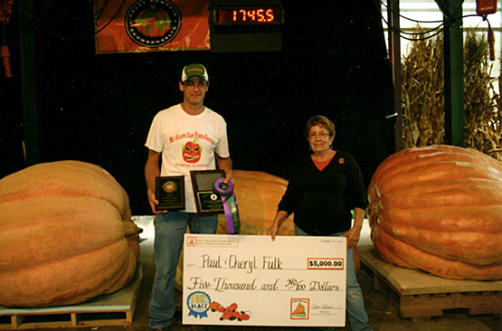 Ohio Valley Giant Pumpkin Growers - World Record - Top 10 Average 1553