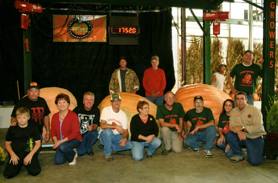 Ohio Valley Giant Pumpkin Growers - 1730.5